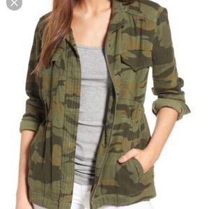 Splendid Army Green Camo jacket Size Medium